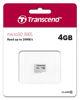 SDHC TRANSCEND MICRO 4GB 300S, 95/45MB/s, C10, UHS-I Speed Class 1 (U1)