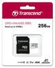 SDXC TRANSCEND MICRO 256GB 300S, 95/45MB/s, C10, UHS-I Speed Class 3 (U3), adapter